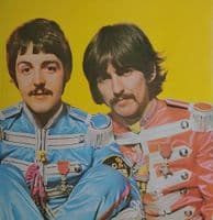 THE BEATLES Sgt. Pepper's Lonely Hearts Club Band Vinyl Record LP Parlophone